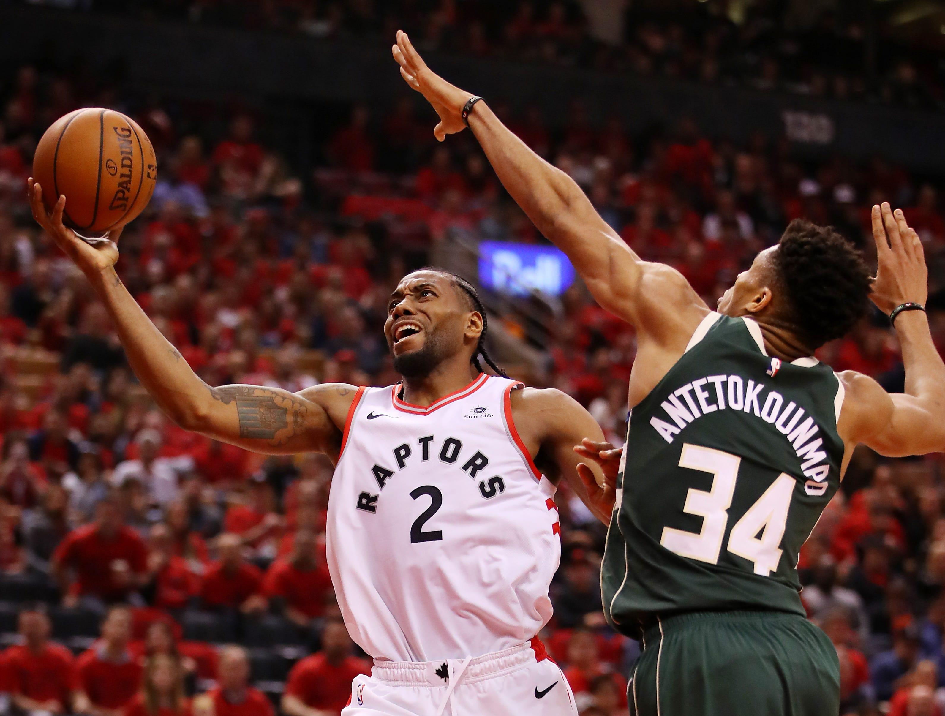 Toronto Raptors get double-overtime Game 3 NBA playoff win over Milwaukee Bucks