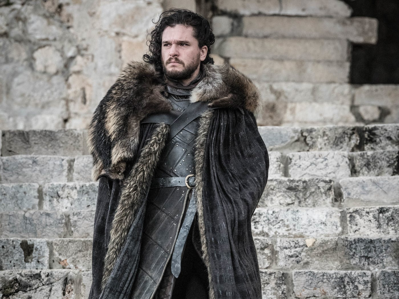 Jon Snow (Kit Harington) experiences big life changes in the series finale of 'Game of Thrones.'