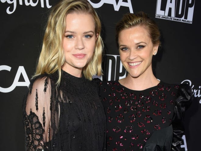 """""""Big Little Lies"""" actress Reese Witherspoon said it hurt her heart when daughter Ava left home for college."""