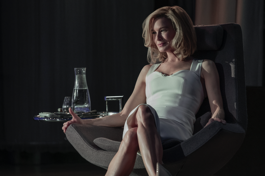 "Renee Zellweger plays venture capitalist Anne Montgomery who has an indecent proposal for a young, cash-strapped couple in Netflix's ""What/If."""
