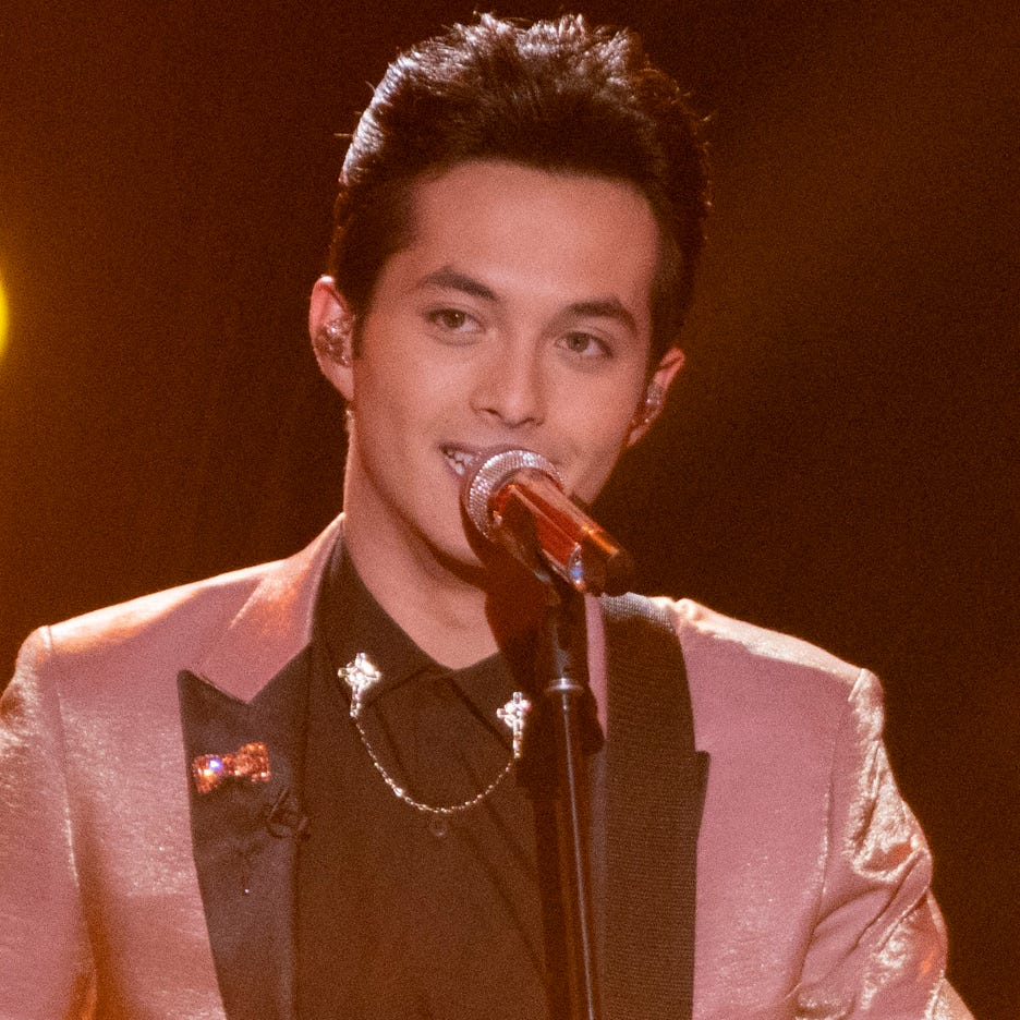 "New ""American Idol"" winner Laine Hardy, 18, who returned to the competition after being eliminated last season."