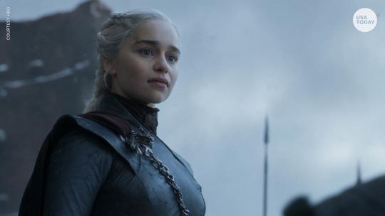"Emilia Clarke plays Daenerys Targaryen on ""Game of Thrones."""