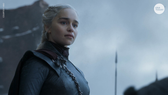 "Emilia Clarke plays Daenerys Targaryen on ""Game of Thrones."""