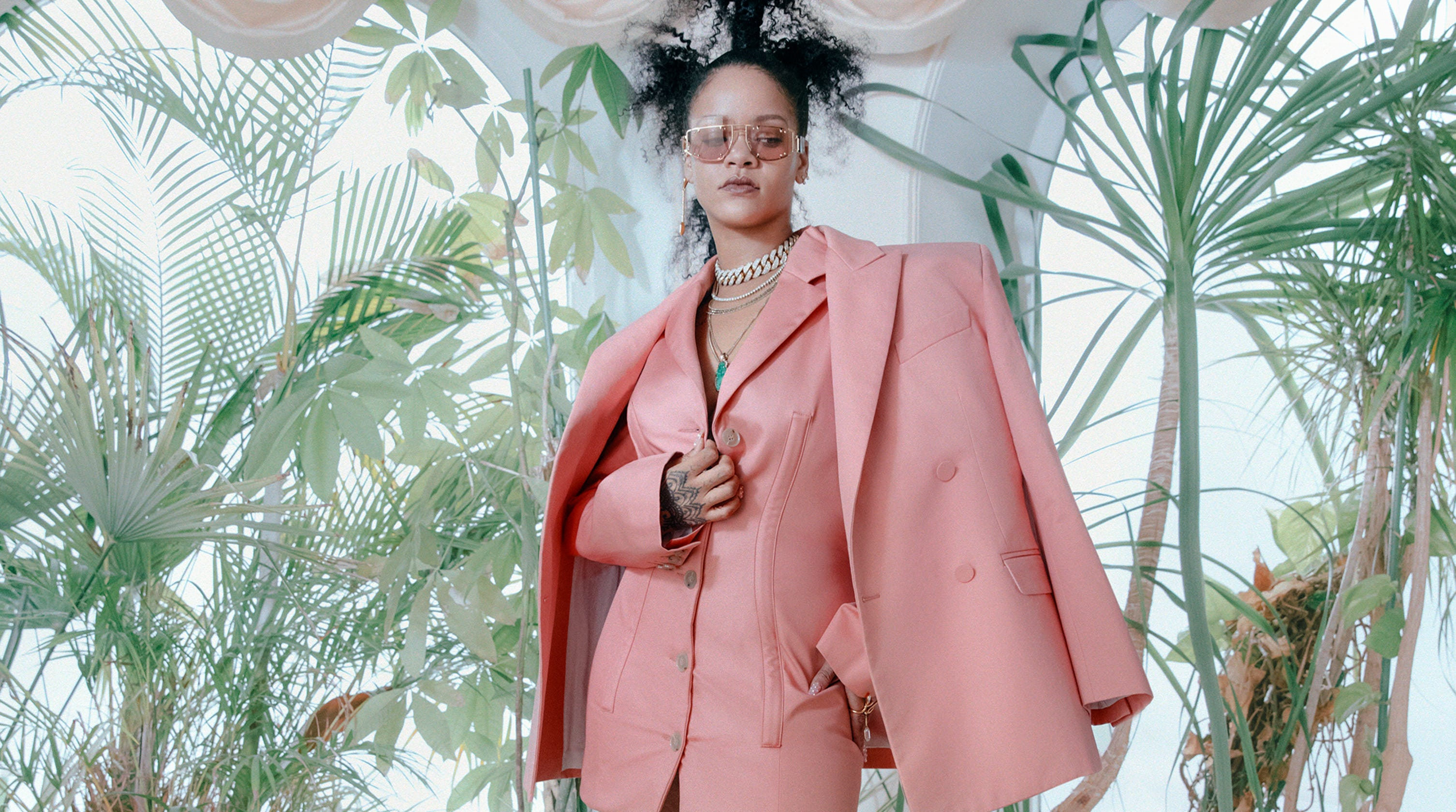 9ab8452c Rihanna on her groundbreaking Fenty fashion line: 'I love being black'