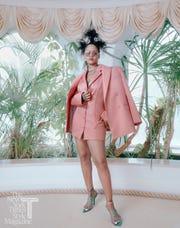 Rihanna for the New York Times Magazine.