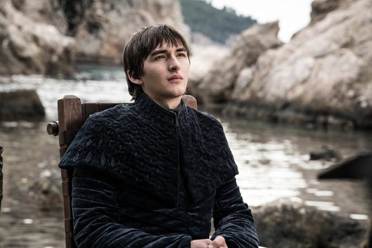 "Isaac Hempstead Wright's Bran Stark went from periphery character to king in ""Game of Thrones."""