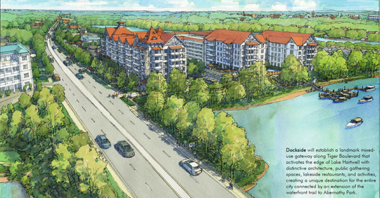 'Dockside' development proposed for Clemson