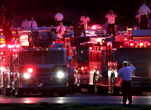 Lighting Funeral Pyre To Bring Closure >> Appleton Shooting Firefighter Mitchell Lundgaard Funeral