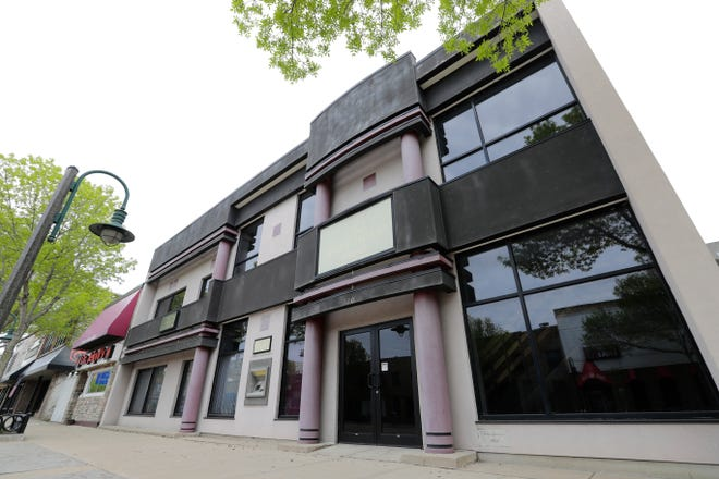 A developer has proposed building a six-story apartment complex on the site of the former North Shore Bank, 320 E. College Ave., in downtown Appleton.