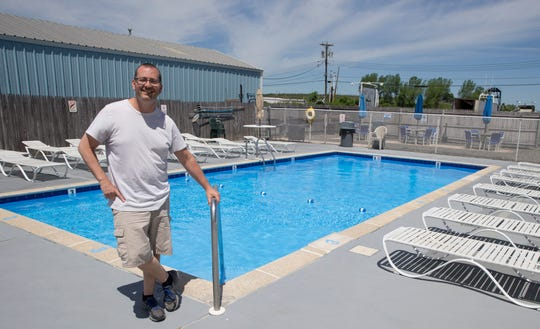 Joe Sandomeno, co-owner of Shore Point Motel in Point Pleasant Beach, prepares for the busy summer season which unofficially starts Memorial Day Weekend. Point Pleasant Beach, NJ Tuesday, May 21, 2019