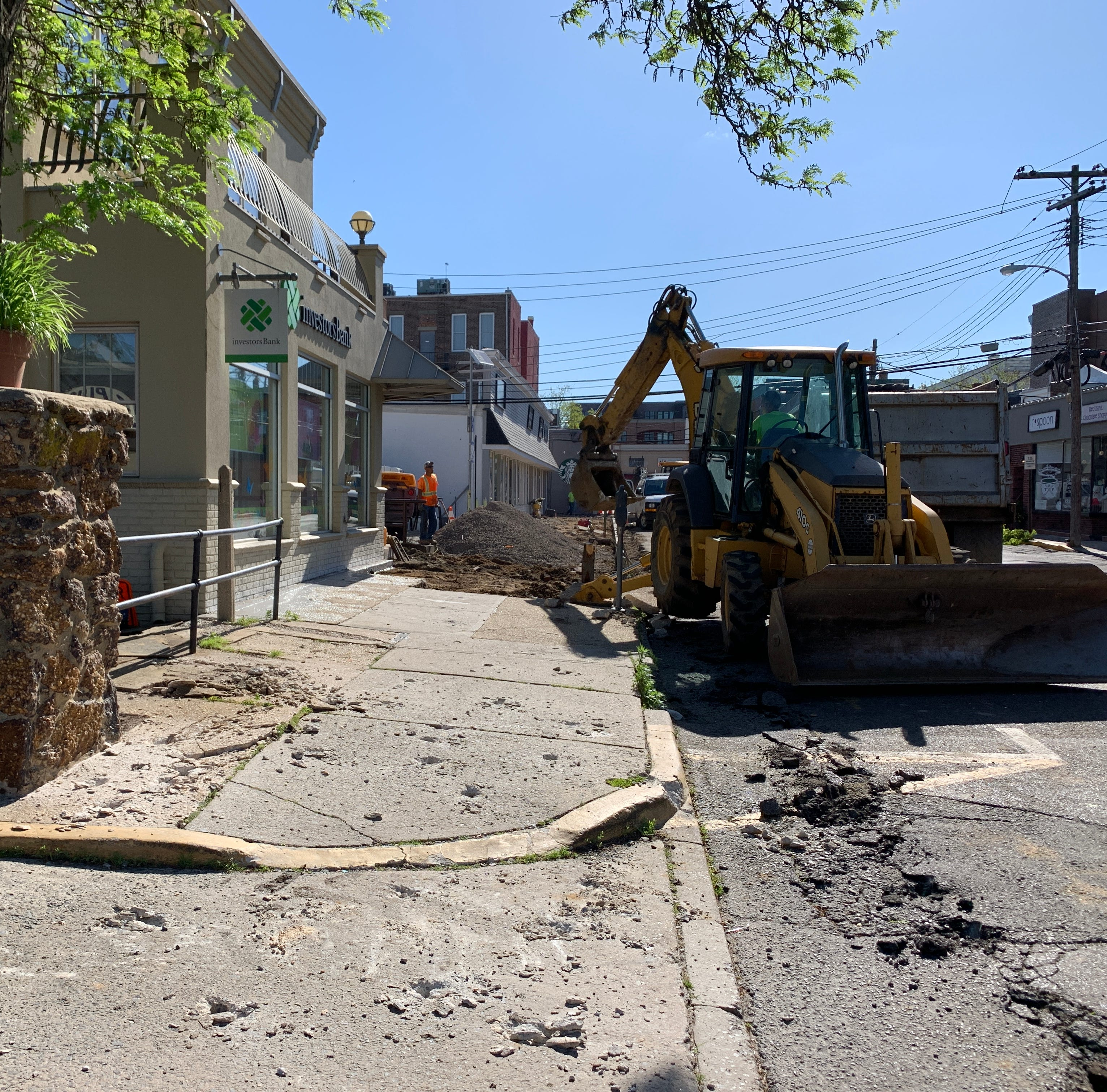 Red Bank getting new sidewalks, lighting, more parking