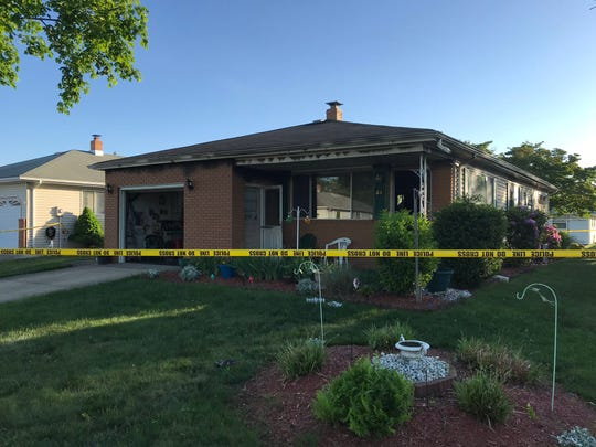 A fire at this Holiday City house left a 93-year-old woman dead.