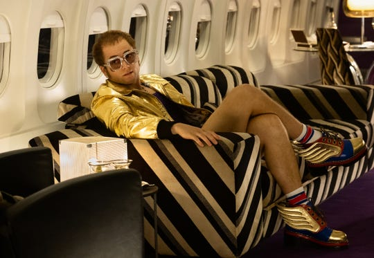 "Taron Egerton as Elton John in ""Rocketman"" from Paramount Pictures."