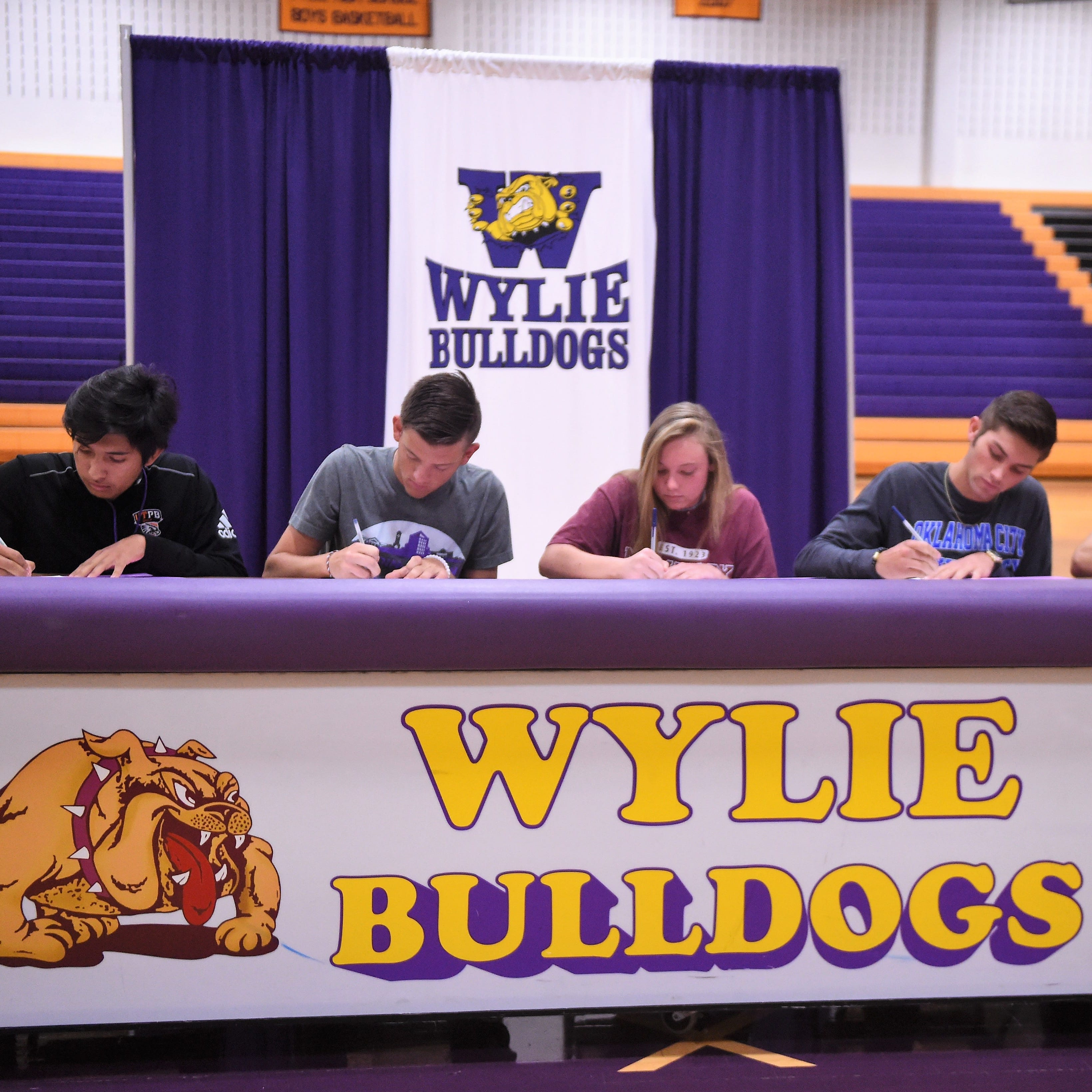 Five Abilene Wylie athletes will compete in college