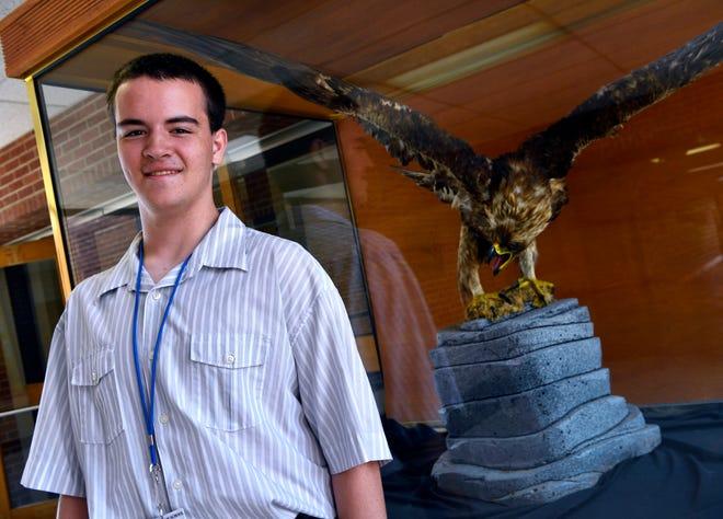 Abilene High graduate-to-be Douglas Morgan.