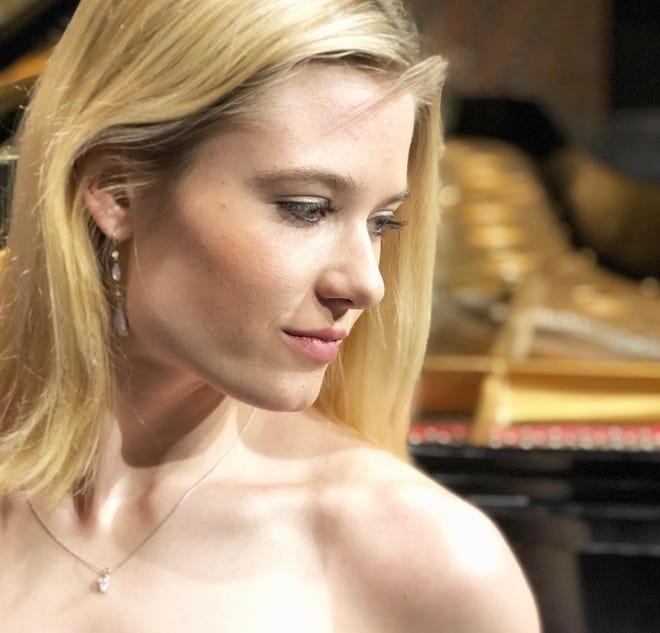 """Halle Puckett returns to Abilene to perform with the Abilene Philharmonic on Jan. 25, playing Beethoven's """"Piano Concerto No. 5, 'Emperor.'"""""""