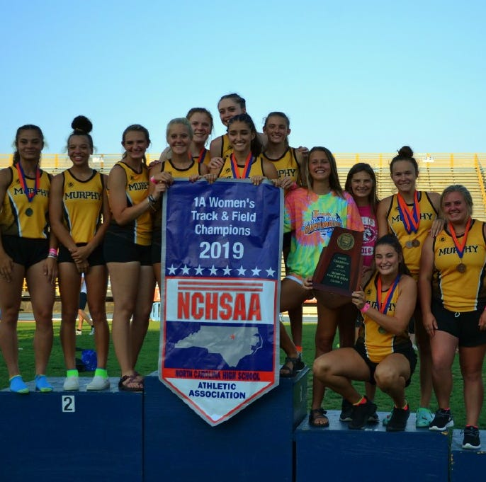 NCHSAA track meet: Murphy claims second straight team title