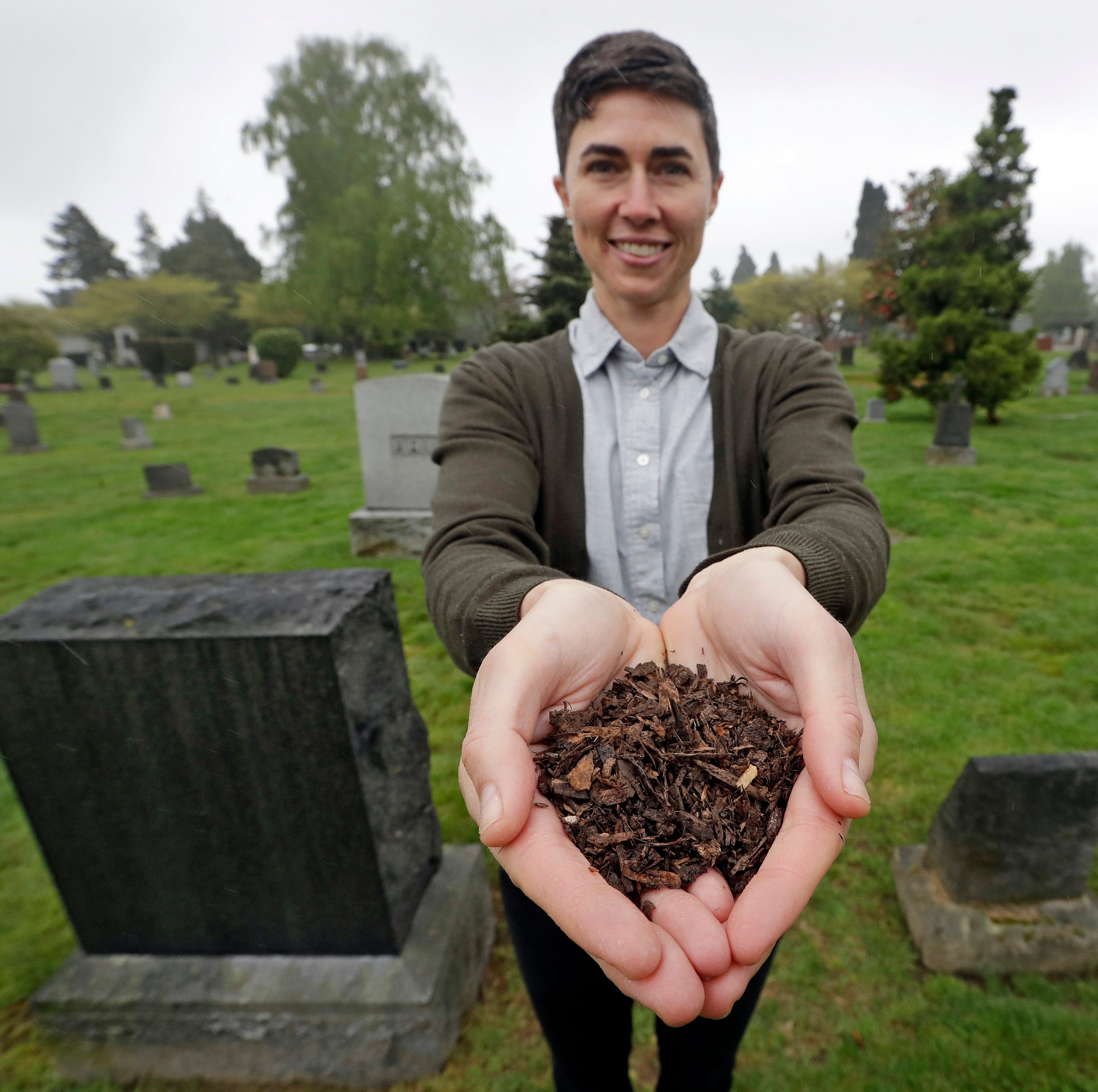 Washington is the first state to allow composting of human bodies