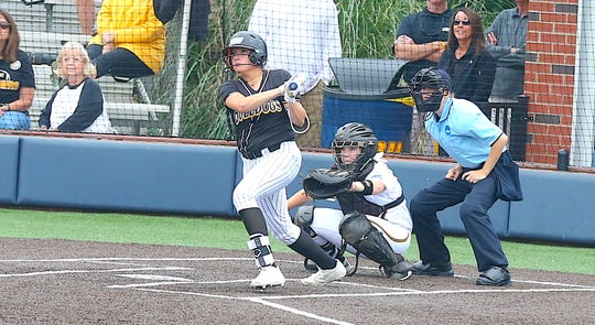 Gregory-Portland's Skylar Ouellette helped the Texas Lutheran Bulldogs advance to the 2019 NCAA Division III Softball Championship Finals.