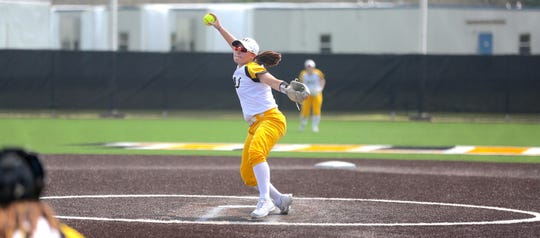 Gregory-Portland's Cassie Roche helped the Texas Lutheran Bulldogs advance to the 2019 NCAA Division III Softball Championship Finals.