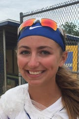 Buena's Nat Ampole retired 20 hitters in a row to polish off a 3-1 win over St. Joseph, clinching a share of the conference title for the Chiefs.
