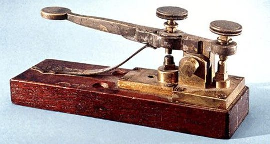 Today in History, May 24, 1844: Samuel Morse transmitted first message on telegraph line