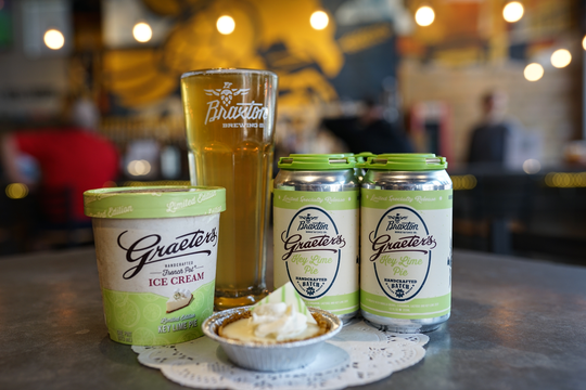 Braxton Brewing and Graeter's Ice Cream announced their newest collaboration, the Graeter's Key Lime Pie Ale.
