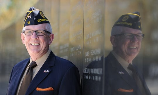 U.S. Army Veteran and Pittstown resident Robert Looby, a member of the New Jersey Veterans' Services Council Member and former trustee of the New Jersey Vietnam Veterans Memorial Foundation Trustee.