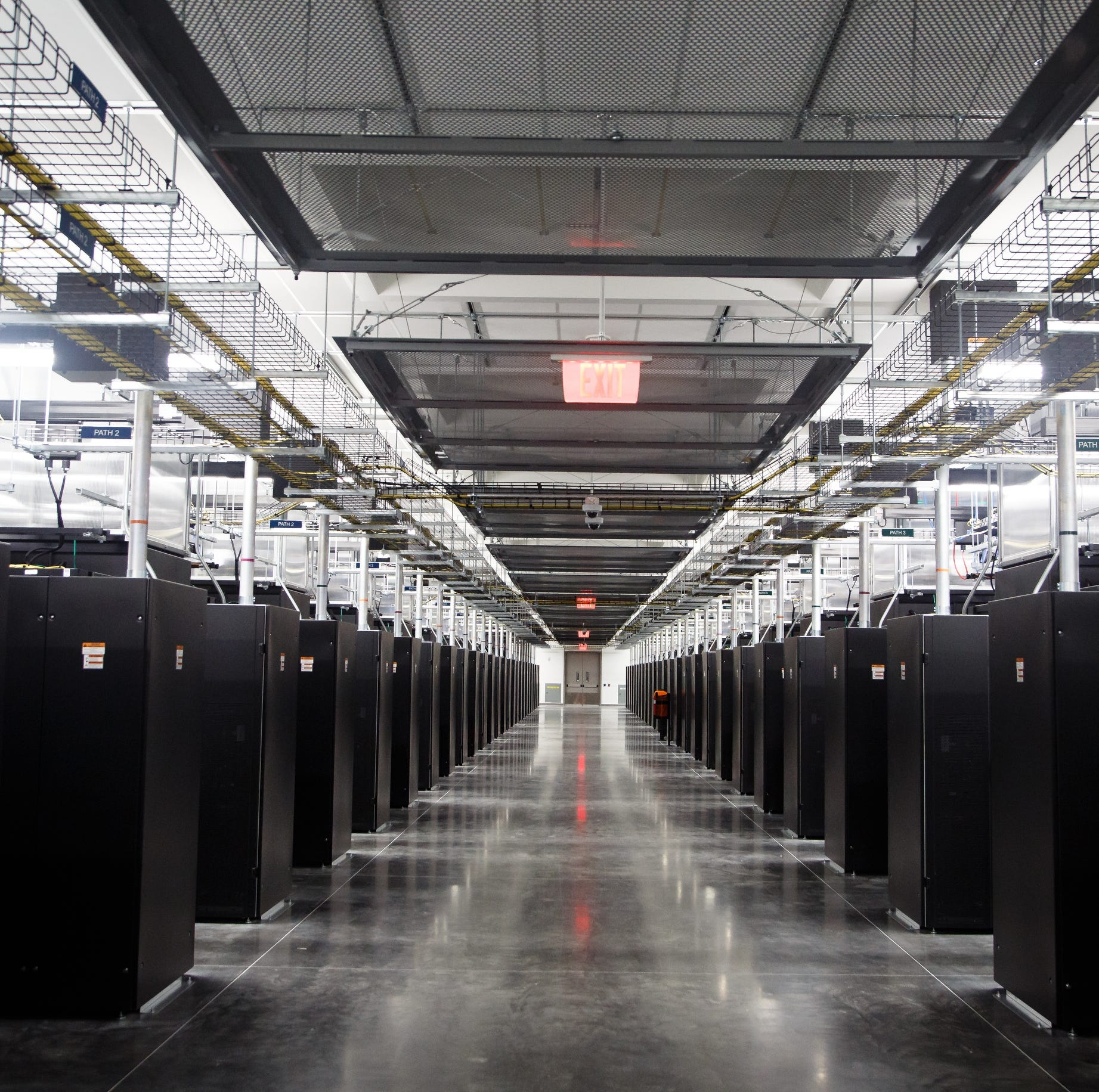 Take a tour inside Facebook's newest Altoona data center