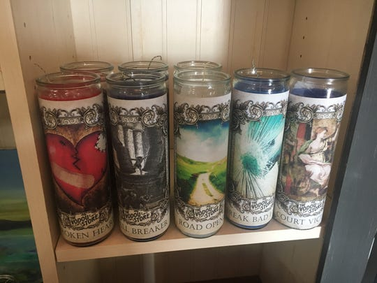 Some of the candles offered at Luckenbooth Detroit include getting over a broken heart and breaking old habits.