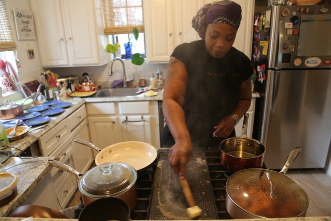 Chef Enid Parham is launching a new web series on cannabis cooking and conversation called Bonnie's Kitchen. Parham also runs Lucky Pistil, a catering company that specializes in cannabis-infused food.