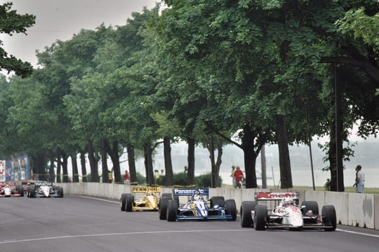 The Grand Prix transitioned to Belle Isle in 1992.