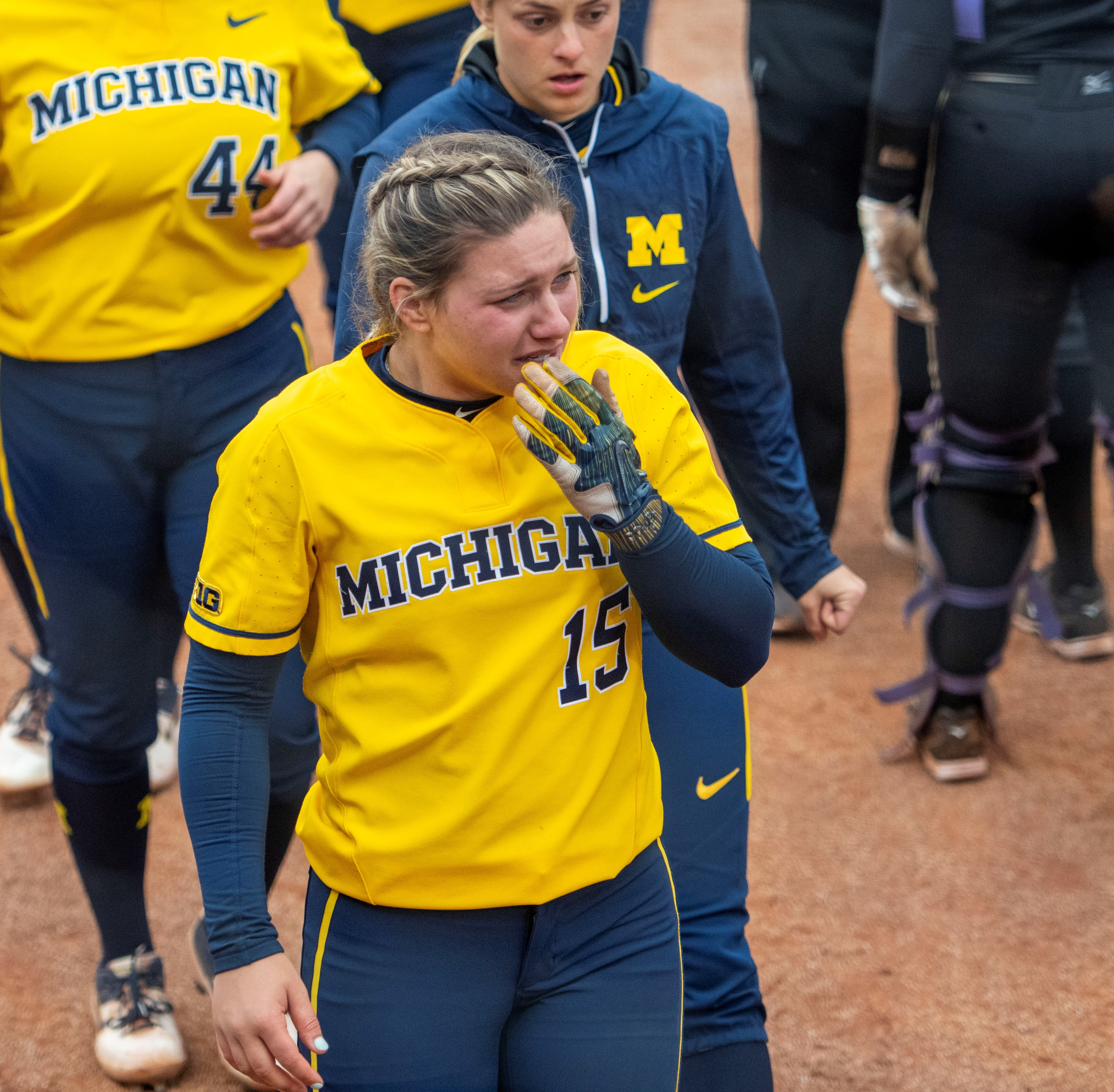 Michigan softball can't find offense as season ends in NCAA regional