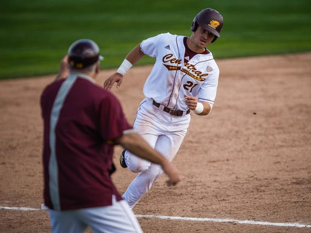 03e6c7a88 Red-hot Central Michigan baseball 'proud to be like a softball team'