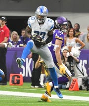 Cornerback Darius Slay is attending the first wave of Lions OTAs, which started Tuesday.