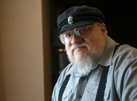 "George R.R. Martin, author of the popular book series ""A Song of Ice and Fire,"" in Toronto."