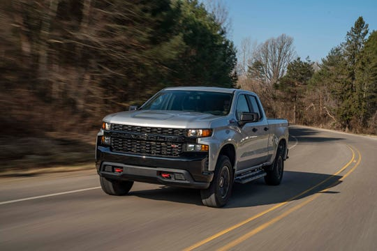 New for 2020, the Chevrolet Silverado Trail Boss gets the 420-horse, 6.2-liter V-8, the cheapest truck in class with over 400 ponies.