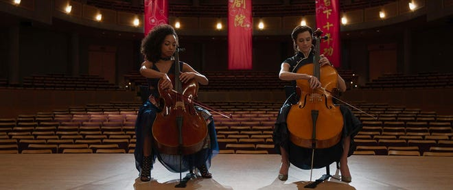 Logan Browning and Allison Williams in 'The Perfection.'