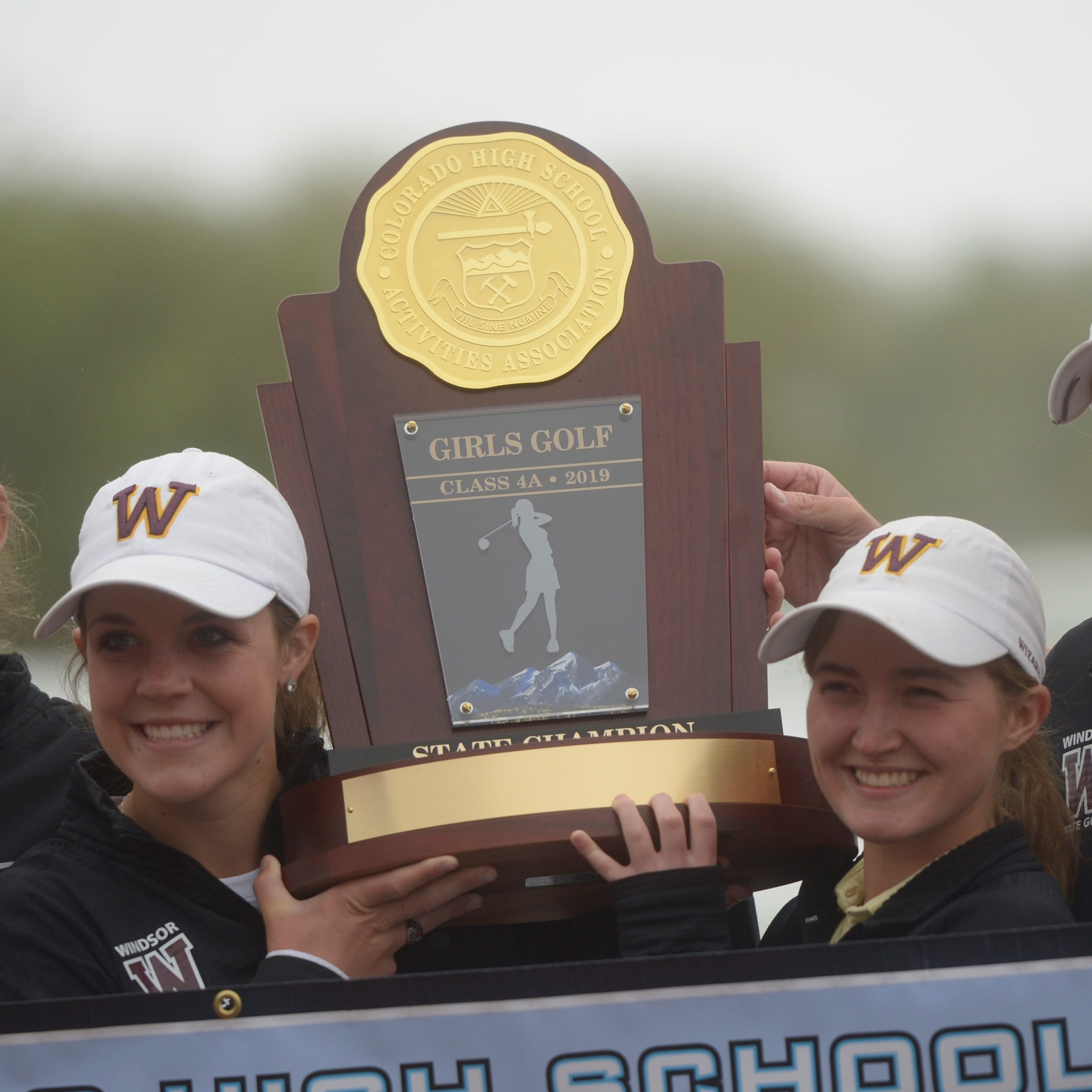 Day 2 of state golf canceled due to snow, Windsor clinches back-to-back titles