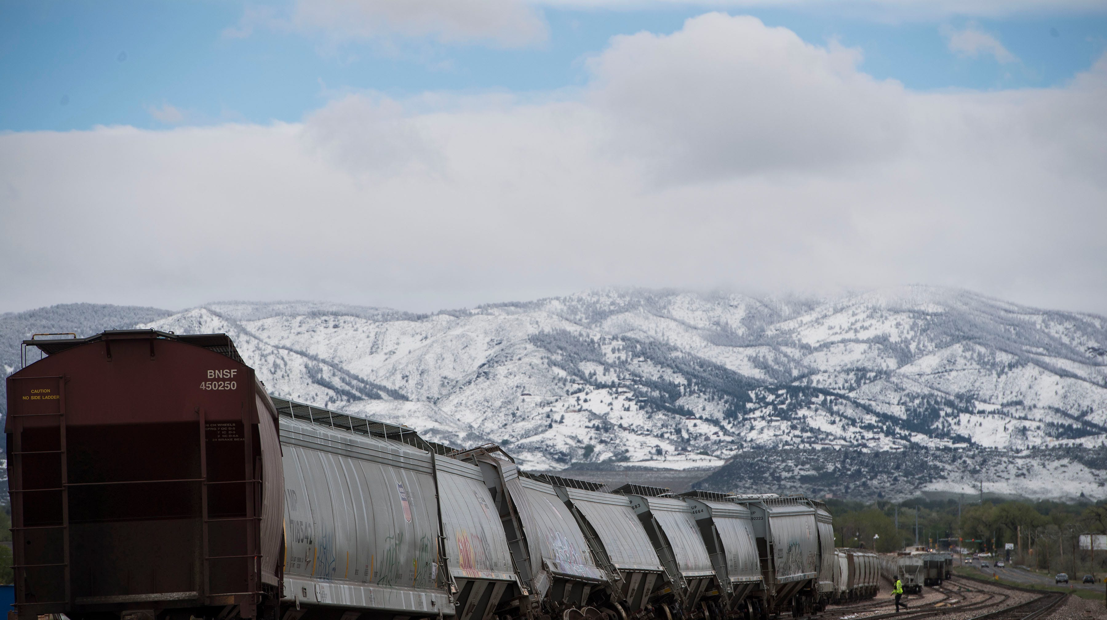 Railroad officials investigating cause of Tuesday's train derailment in north Fort Collins