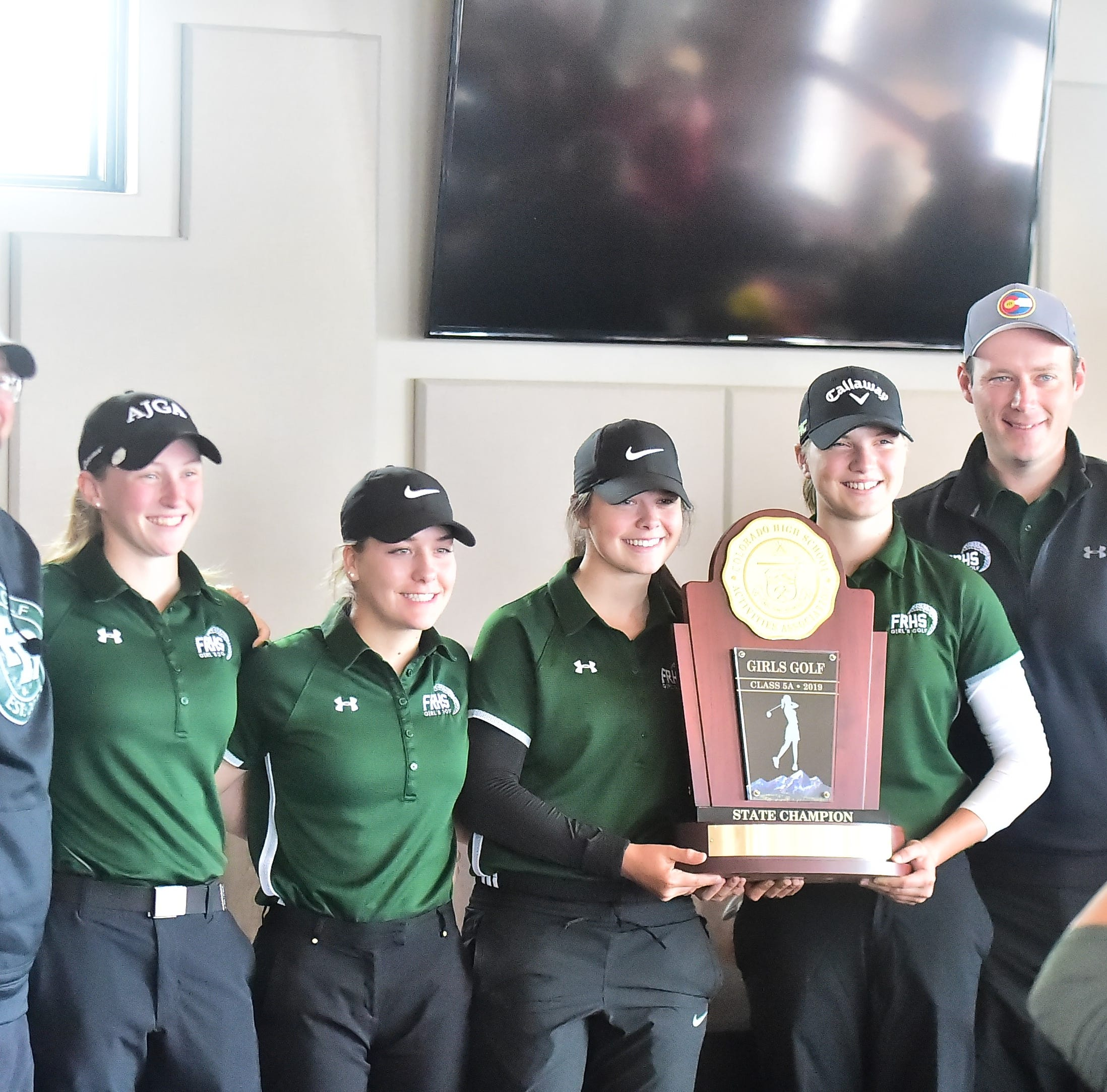Fossil Ridge wins Class 5A state title in girls golf after final round is snowed out