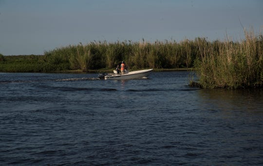 Fishermen use Lake Okeechobee in Clewiston on Thursday May 16, 2019. The Centers for Disease Control is doing research on the affects of blue green algae on people who work and live on or along Lake Okeechobee.