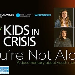 REPLAY: 'You're Not Alone' documentary on youth mental health in Green Bay
