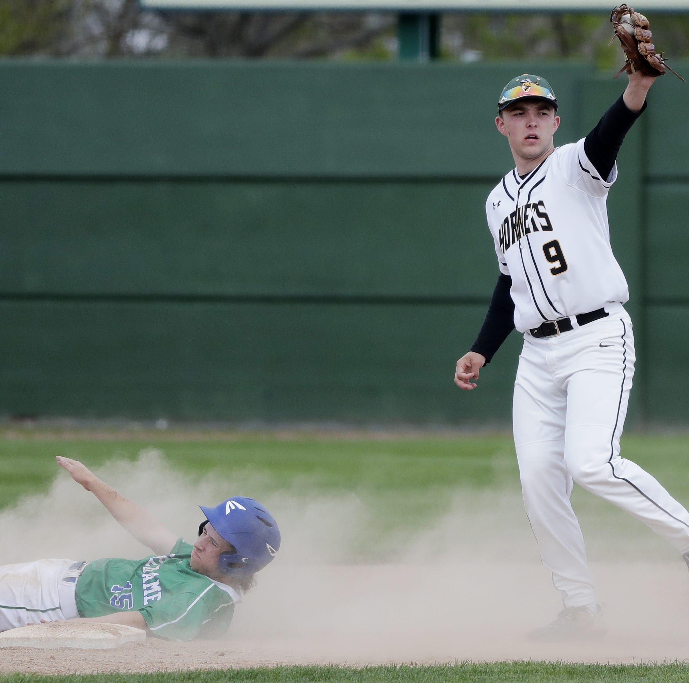 Green Bay Preble's star baseball recruits, best friends have big dreams