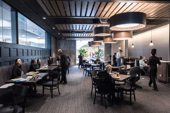 Saltwater Kitchen, located at Haywood Mall, is the newest restaurant from Rick Erwin Dining Group, featuring fresh seafood. The restaurant will be open by this weekend.