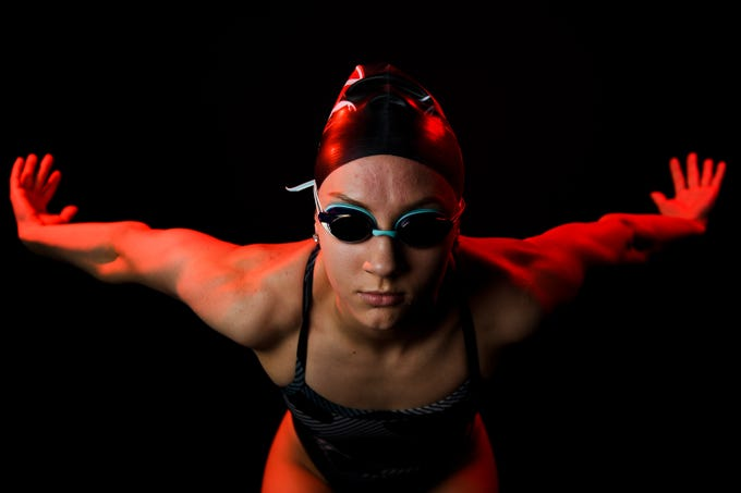 Anna Havens Rice of Greenville High School is a finalist for the 2018-19 Greenville News Upstate girls swimmer of the year.