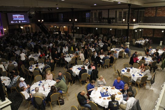 Aerial view of the 2019 Great Falls Tribune NCMSA at the Heritage Inn