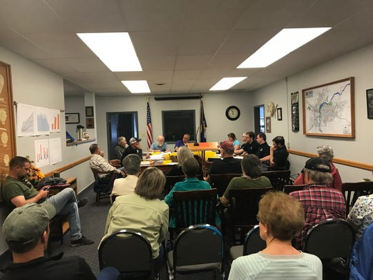 More than 60 people signed in at the Cascade County Planning Board meeting Tuesday which featured a public hearing on whether the growth policy should be revised. The Planning Board voted 4-2 not to proceed with a revision.