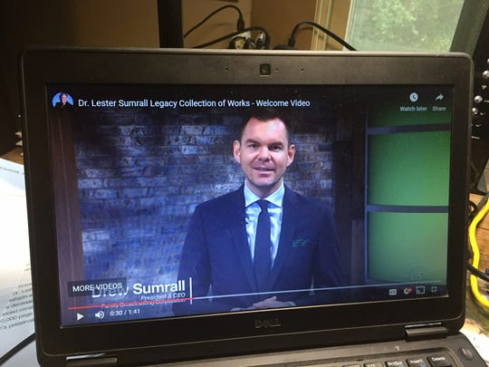 """Andrew """"Drew"""" Sumrall now heads the web of religious nonprofits founded by his grandfather, legendary Hoosier evangelist Lester Sumrall."""