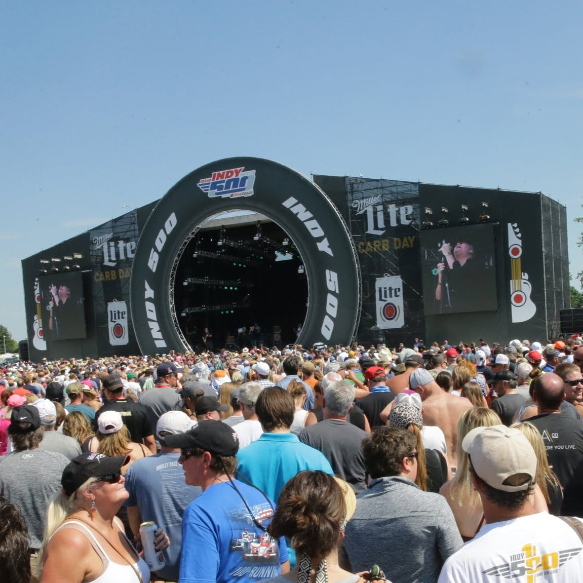 Here's the 2019 Indy 500 Carb Day concert schedule